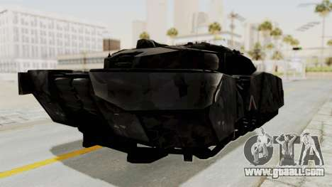 T-470 Hover Tank for GTA San Andreas right view
