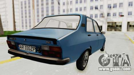 Dacia 1310 MLS 1988 Stock for GTA San Andreas left view