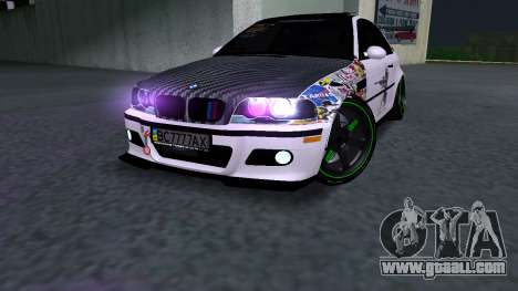 BMW M3 E46 JDM for GTA San Andreas