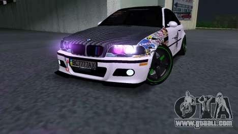 BMW M3 E46 JDM for GTA San Andreas