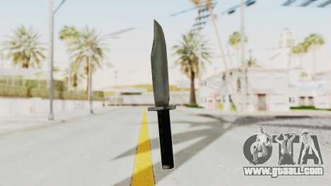 Liberty City Stories - Knife for GTA San Andreas