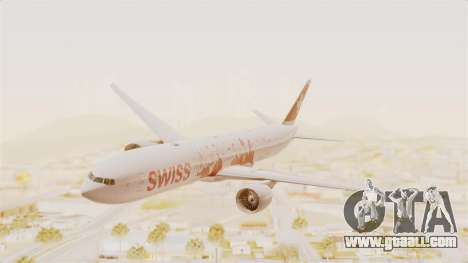 Boeing 777-300ER Faces of SWISS Livery for GTA San Andreas
