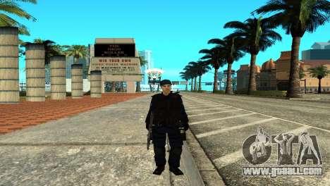Police SWAT Skin for GTA San Andreas for GTA San Andreas