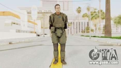 MGSV Ground Zeroes MSF Medic for GTA San Andreas second screenshot