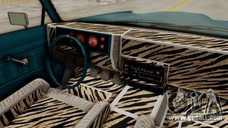 GTA 5 Dundreary Virgo Classic Custom v3 IVF for GTA San Andreas inner view