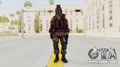 Battery Online Russian Soldier 5 v1 for GTA San Andreas second screenshot