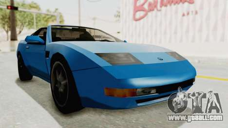 Annis Euros 3.0Z Turbo 1992 for GTA San Andreas back left view