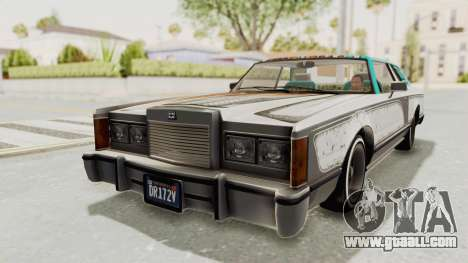 GTA 5 Dundreary Virgo Classic Custom v2 for GTA San Andreas bottom view