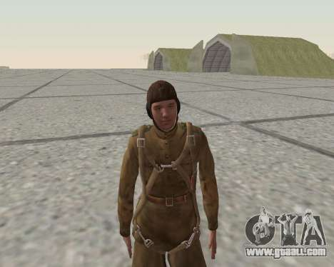 Pak fighters of the red army for GTA San Andreas ninth screenshot