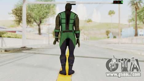 Mortal Kombat X Klassic Reptile for GTA San Andreas third screenshot