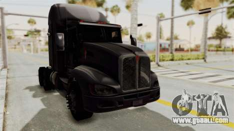 Kenworth T660 Sleeper for GTA San Andreas right view