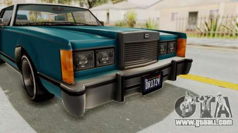 GTA 5 Dundreary Virgo Classic Custom v3 IVF for GTA San Andreas upper view