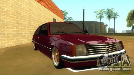Opel Monza A1 for GTA San Andreas back view