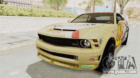 GTA 5 Vapid Dominator v2 SA Lights for GTA San Andreas interior