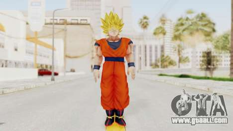 Dragon Ball Xenoverse Goku SSJ1 for GTA San Andreas second screenshot