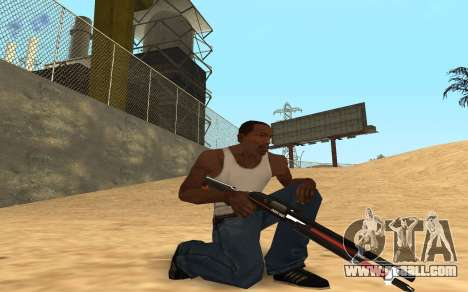 Shotgun Cyrex for GTA San Andreas forth screenshot