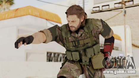 MGSV The Phantom Pain Venom Snake No Eyepatch v6 for GTA San Andreas