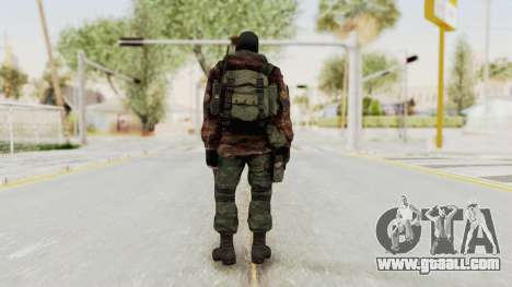 Battery Online Russian Soldier 8 v2 for GTA San Andreas third screenshot