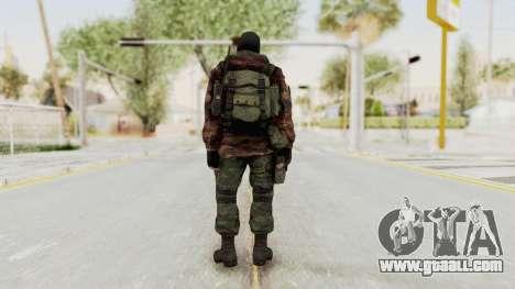 Battery Online Russian Soldier 8 v2 for GTA San Andreas third screenshot