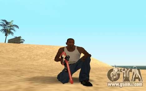 Rifle Cyrex for GTA San Andreas forth screenshot