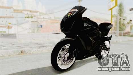 Kawasaki Ninja 250R Black Cobra RnB Anak Jalana for GTA San Andreas