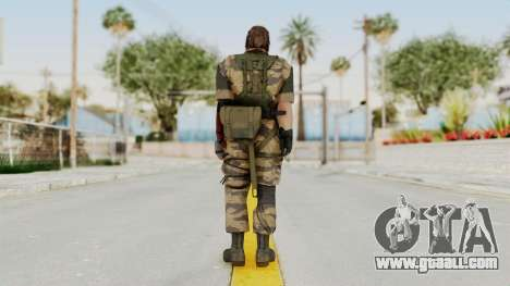 MGSV The Phantom Pain Venom Snake No Eyepatch v2 for GTA San Andreas third screenshot