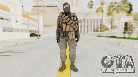COD Black Ops Russian Spetznaz v1 for GTA San Andreas second screenshot