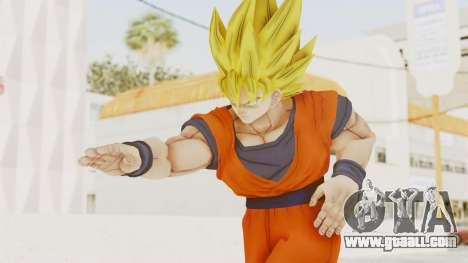 Dragon Ball Xenoverse Goku SSJ1 for GTA San Andreas