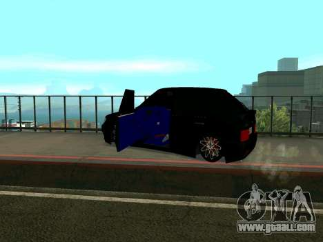 VAZ 2114 KBR for GTA San Andreas back view
