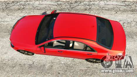 GTA 5 Mercedes-Benz S500 (W222) [bridgestone] v2.1 back view