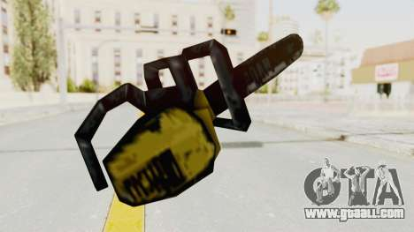 Liberty City Stories Chainsaw for GTA San Andreas third screenshot