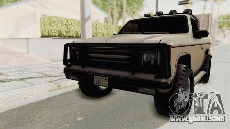 Rancher Style Bronco for GTA San Andreas