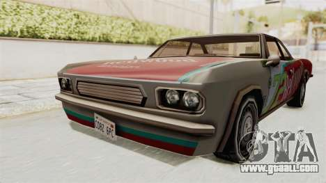 Redwood TaMpa for GTA San Andreas right view