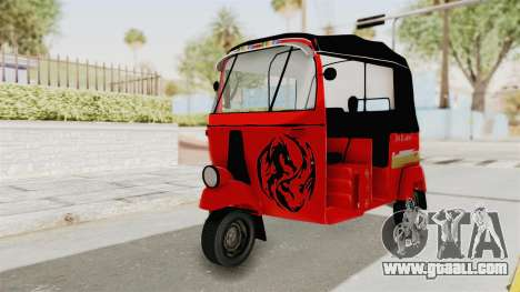 Sri Lanka Three Wheeler Taxi for GTA San Andreas