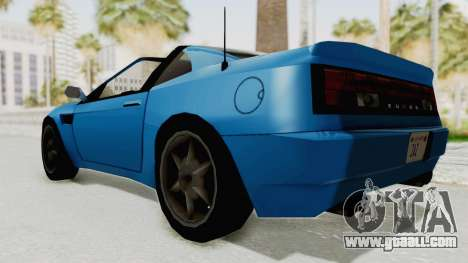 Annis Euros 3.0Z Turbo 1992 for GTA San Andreas right view