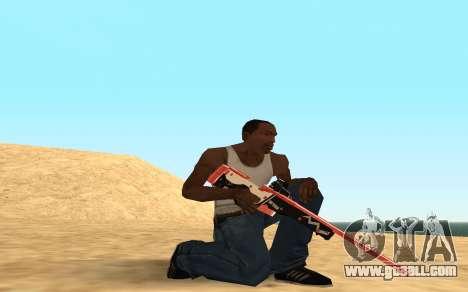 Rifle Cyrex for GTA San Andreas sixth screenshot