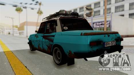 Wartburg 353 Rat Style for GTA San Andreas left view