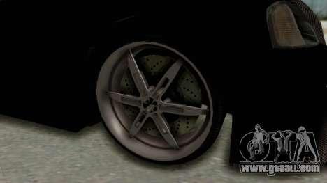 Dacia Logan Loco Tuning for GTA San Andreas back view