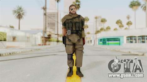 MGSV The Phantom Pain Venom Snake Scarf v1 for GTA San Andreas second screenshot