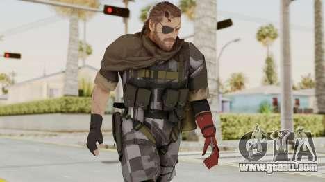 MGSV The Phantom Pain Venom Snake Scarf v7 for GTA San Andreas