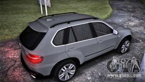 BMW X5 E70 for GTA San Andreas left view