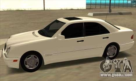 Mercedes-Benz E420 W210 for GTA San Andreas left view