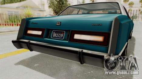 GTA 5 Dundreary Virgo Classic Custom v3 IVF for GTA San Andreas interior