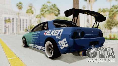 Nissan Skyline R32 Drift Falken for GTA San Andreas left view