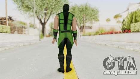 Mortal Kombat X Klassic Human Reptile for GTA San Andreas third screenshot