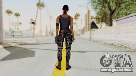 Mortal Kombat X Jacqui Briggs Boot Camp for GTA San Andreas third screenshot
