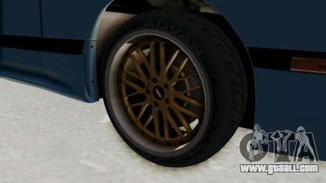 Mazda RX-7 FC3S for GTA San Andreas back view