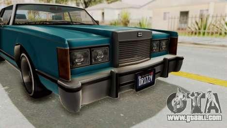 GTA 5 Dundreary Virgo Classic Custom v3 IVF for GTA San Andreas side view