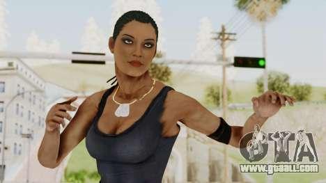 Mortal Kombat X Jacqui Briggs Boot Camp for GTA San Andreas