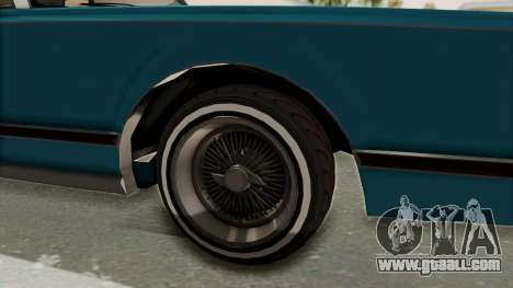 GTA 5 Dundreary Virgo Classic Custom v3 IVF for GTA San Andreas back view